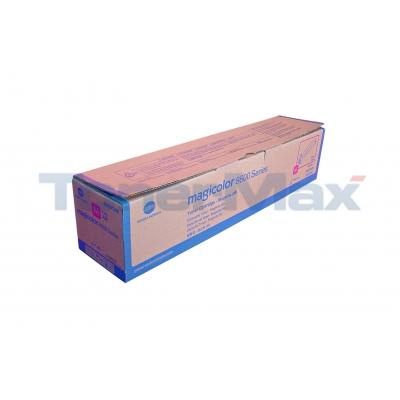 KONICA MINOLTA MAGICOLOR 8650DN 120V TONER MAGENTA